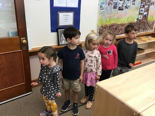 Pre-Primary:  The Beginning…