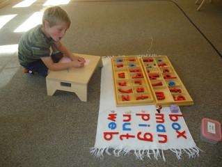Kindergarten: The Movable Alphabet