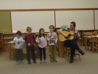 Jr/Sr Kindergarten:  We Are the Music Makers!
