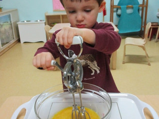 Seedlings:  Food Preparation in the Toddler Classroom