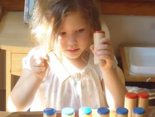 Kindergarten: The Sound Cylinders