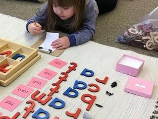 Preschool: The Moveable Alphabet