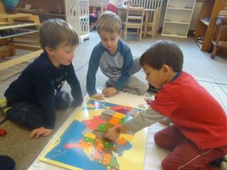 Kindergarten:  Exploring the World from a Montessori Classroom