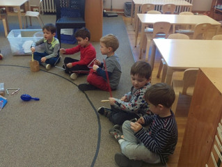 Pre-Primary: Goldilocks and the Three Bears…With Instruments