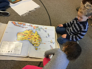 Pre-Primary: Learning about the World…