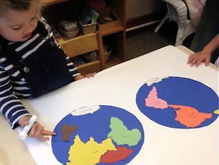 Preschool:  Geography