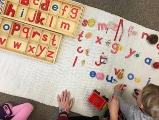 Preschool: The Movable Alphabet