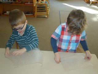 Jr/Sr Kindergarten:  Pop, Pop, Pop...Strengthening Our Fine Motor Skills