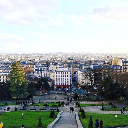 Winter at Montmartre