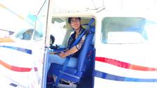 Primer vuelo Sola