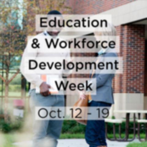 Education & Workforce Development Week (