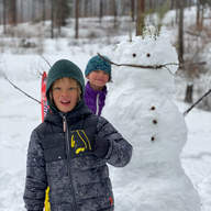 Sometimes you just need to take a break and build a snowman by Keith Klapstein