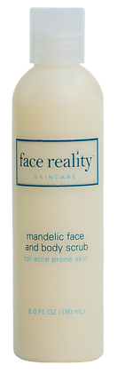 face reality skincare Mandelic Face and Body Scrub