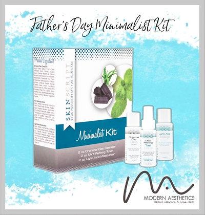Father's Day Skin Script Minimalist Kit