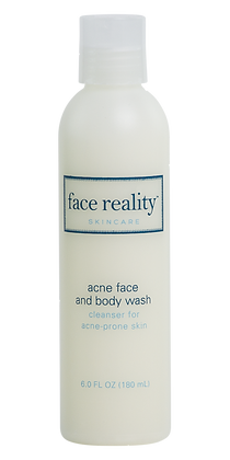 face reality skincare Acne Face and Body Wash