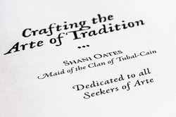 Crafting the Arte of Tradition