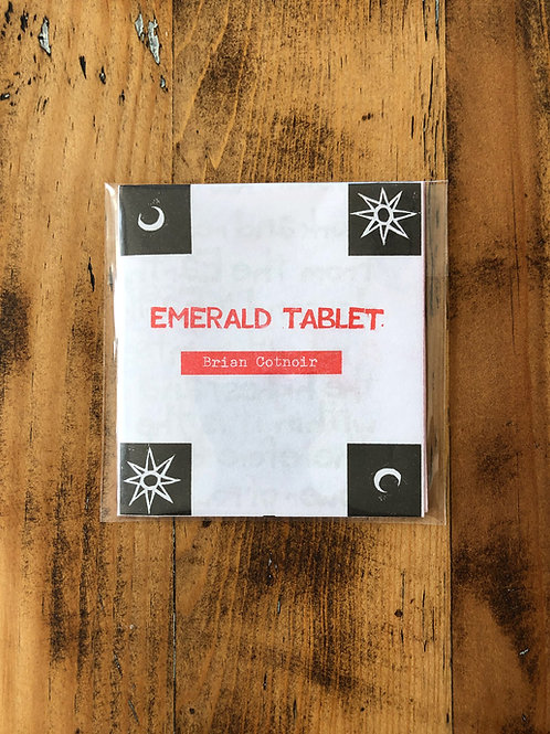 The Emerald Tablet [Risograph]