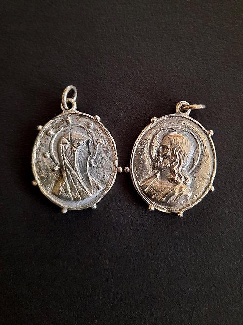 Heretical Medal [Sterling Silver Pendant]