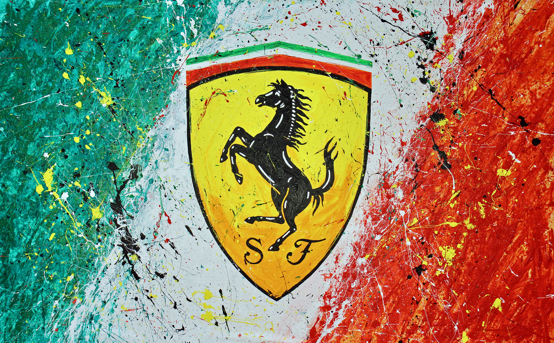 TR 132 - Ferrari Logo