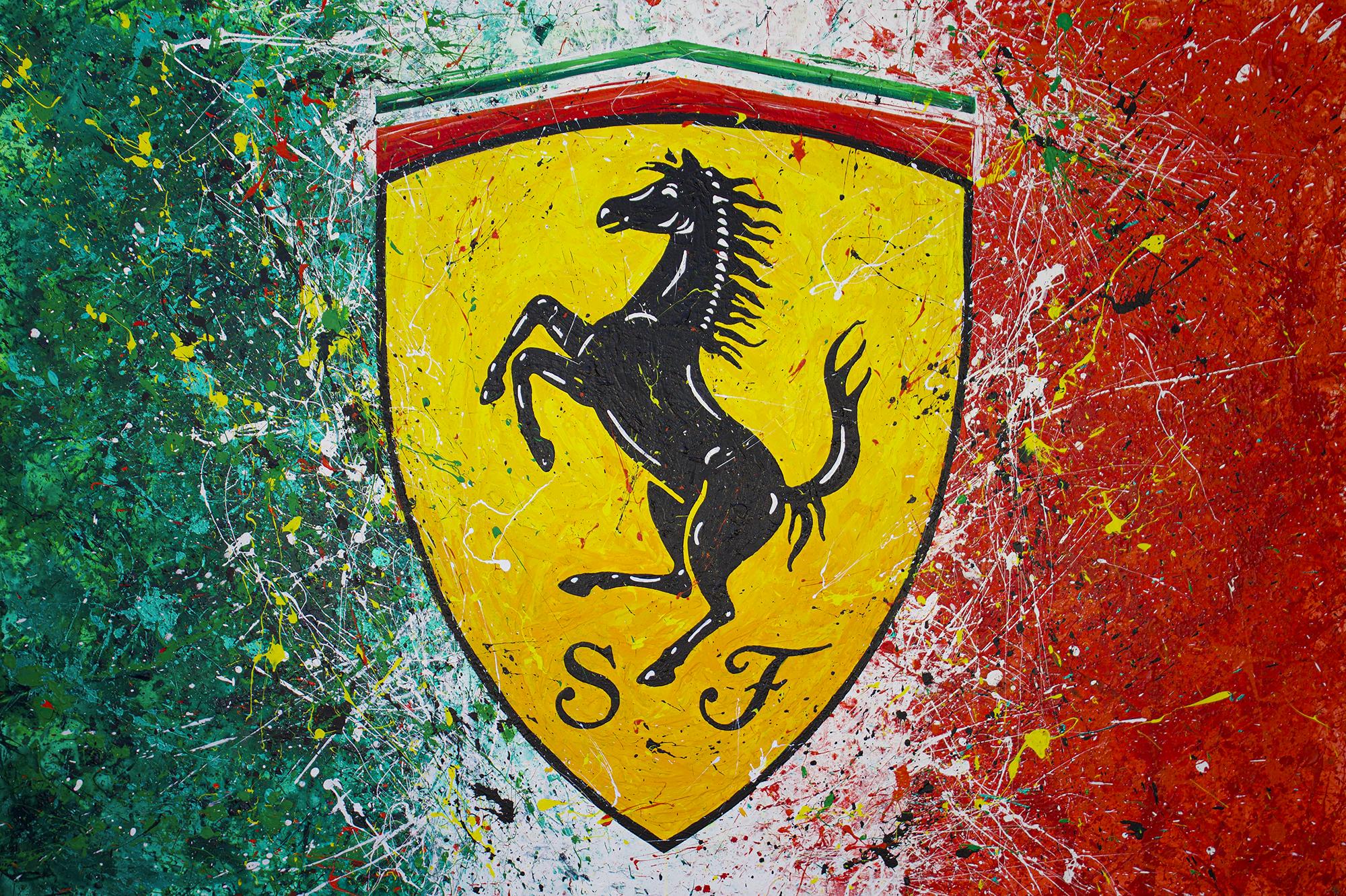 TR 158 - Ferrari Logo 2