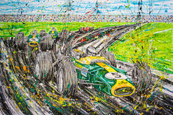 """TR 173 - Jim Clark - """"Racing cars at the track"""""""