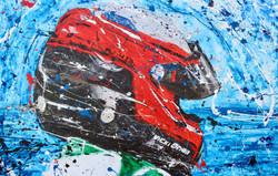 TR 65 – Vicki Brian Racing Helmet