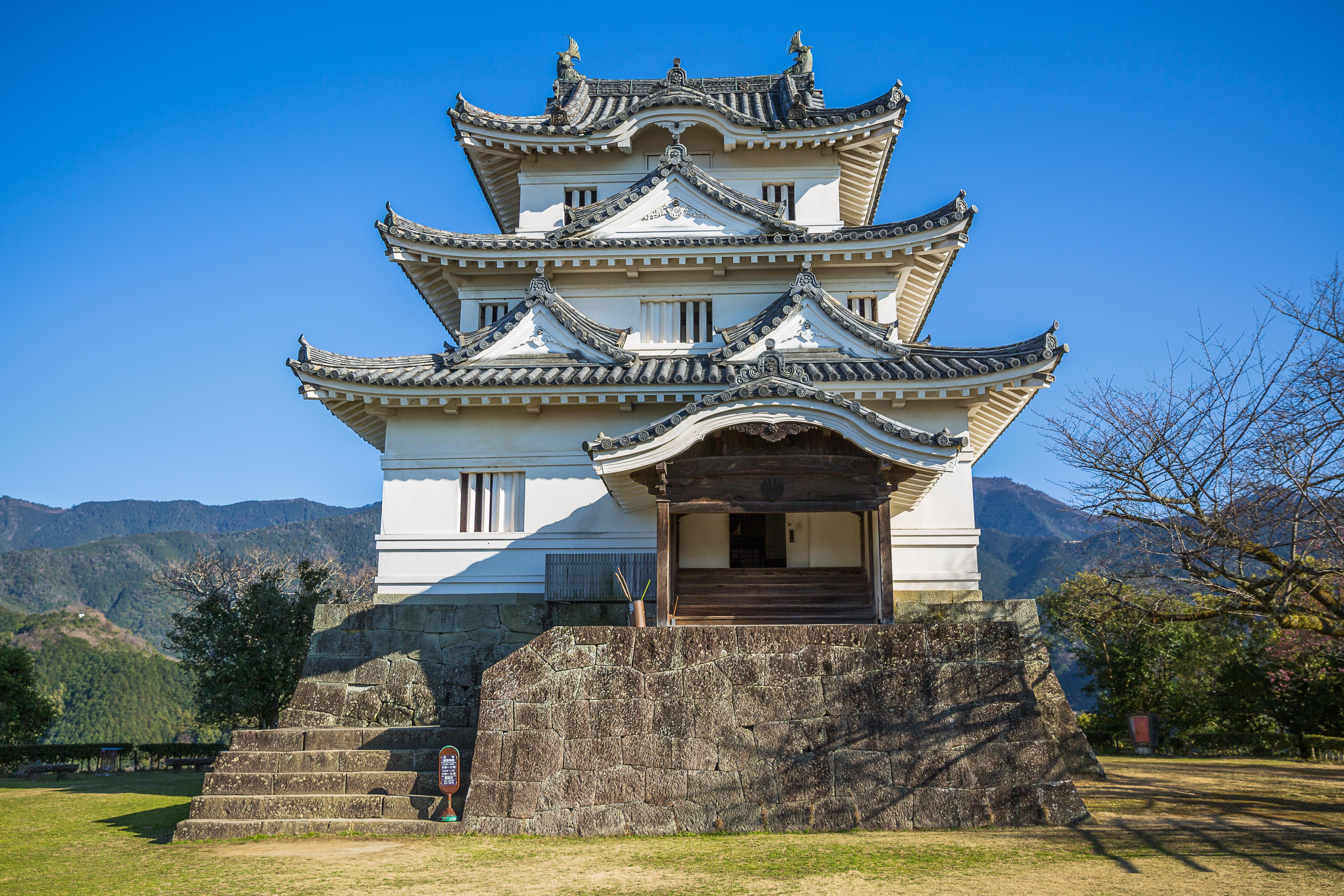 Shikoku - Uwajima Castle-754