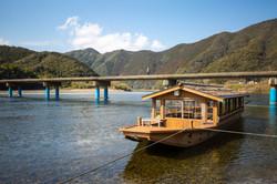 Shikoku - Sada Chinkabashi (submersible bridge) --646