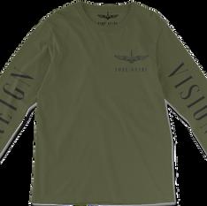 Olive Logo Long-Sleeve