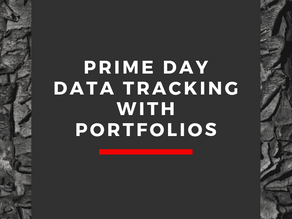 Prime Day Data Tracking with Portfolios