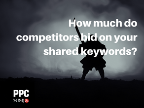 Amazon PPC: How much do competitors bid on your shared keywords?