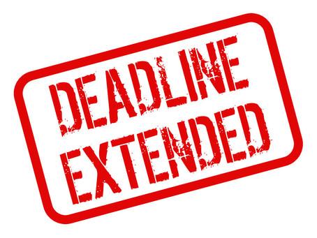 Extension of Tax Filing for  تمديد فترة تقديم الإقرار الضريبي لسنة  2020