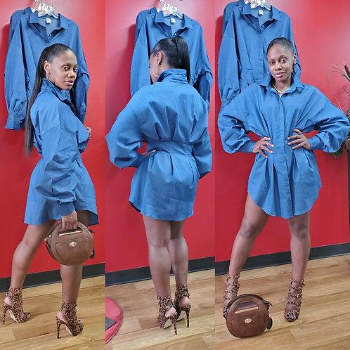 Double Dutch Shirt Dress