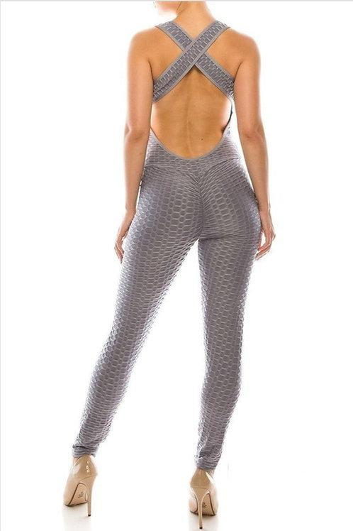Textured Jumpsuit