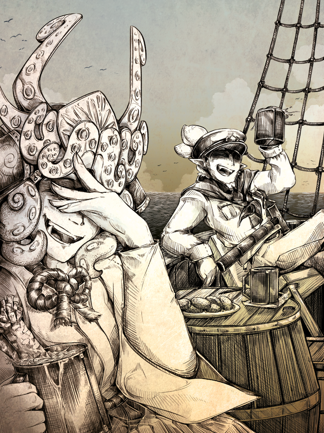 Prince of Turf Zine Illustration