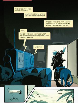 En Prison Comic Page