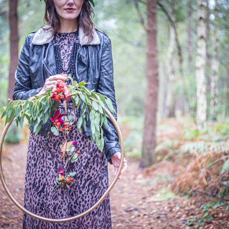 Alternative Woodland Bride