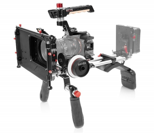 High resolution video camera film production