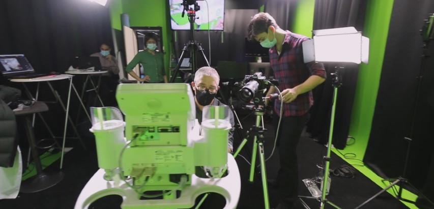Vos options pour la production vidéo dans un studio avec fond vert dans la région lausannoise