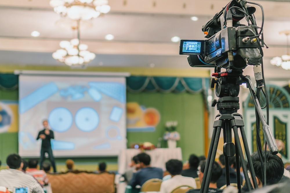 Stream live video business presentation in Switzerland