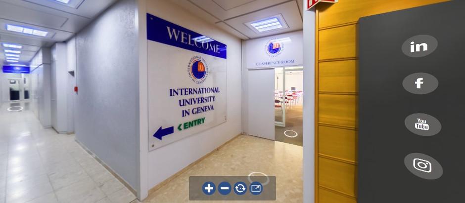 Vivez et profitez d'une visite virtuelle de l'Université internationale de Genève