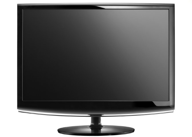 A widescreen TV with HDMI connection