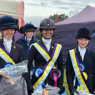 Novice Dressage team
