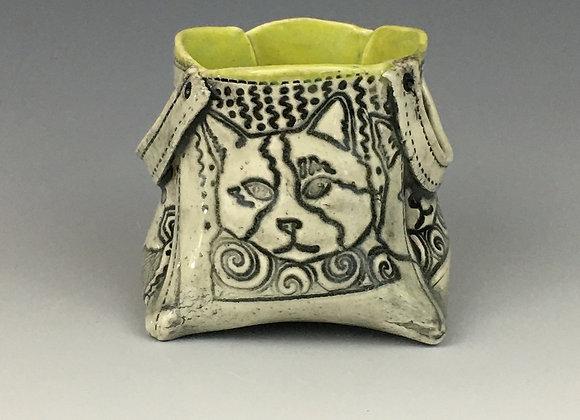 Ceramic Plant Holder or Purse