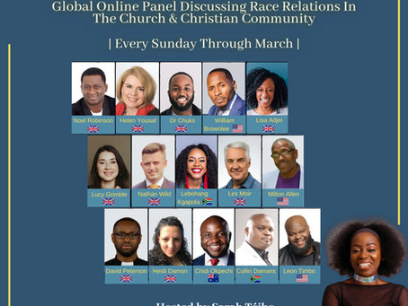 LET'S TALK ABOUT RACISM IN THE GLOBAL CHRISTIAN COMMUNITY