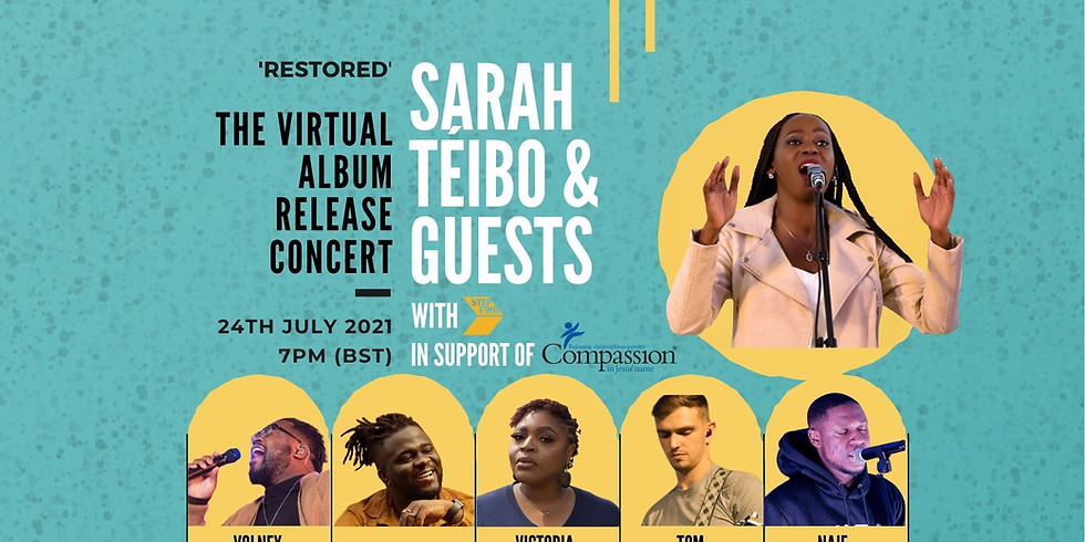 Restored - The Virtual Album Release Concert, With Sarah Téibo & Guests