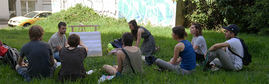 Atelier autour du jardin forêt Nantes