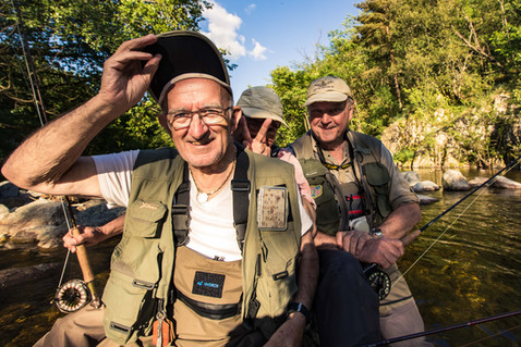 3 légendes de la pêche à la mouche.