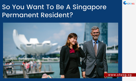 So You Want To Be A Singapore Permanent Resident?