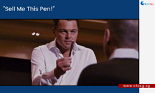 """""""Sell Me This Pen!"""""""